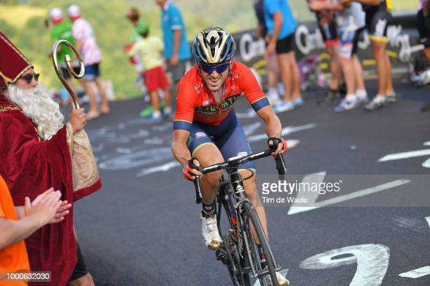 Jon Izaguirre Insausti of Spain and Bahrain Merida Pro Team / Fans / Public / during the 105th Tour de France 2018 / Stage 10 a 1585km stage from...