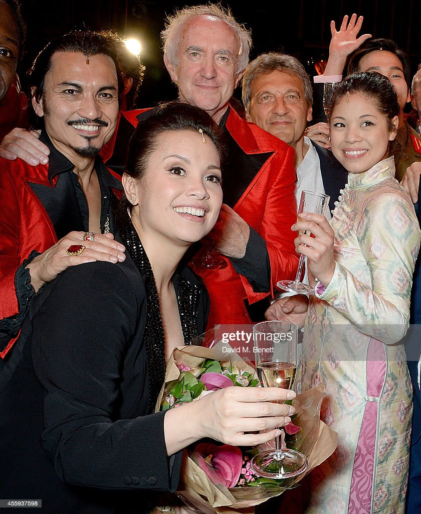 'Miss Saigon' - 25th Anniversary Gala Performance - Curtain Call & After Party : News Photo