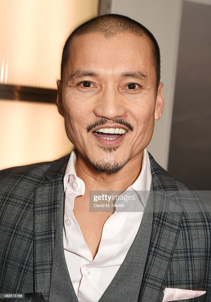 Jon Jon Briones, winner of Best Actor in a Musical for 'Miss Saigon', poses in the press room at the WhatsOnStage Awards at The Prince of Wales Theatre on February 15, 2015 in London, England.