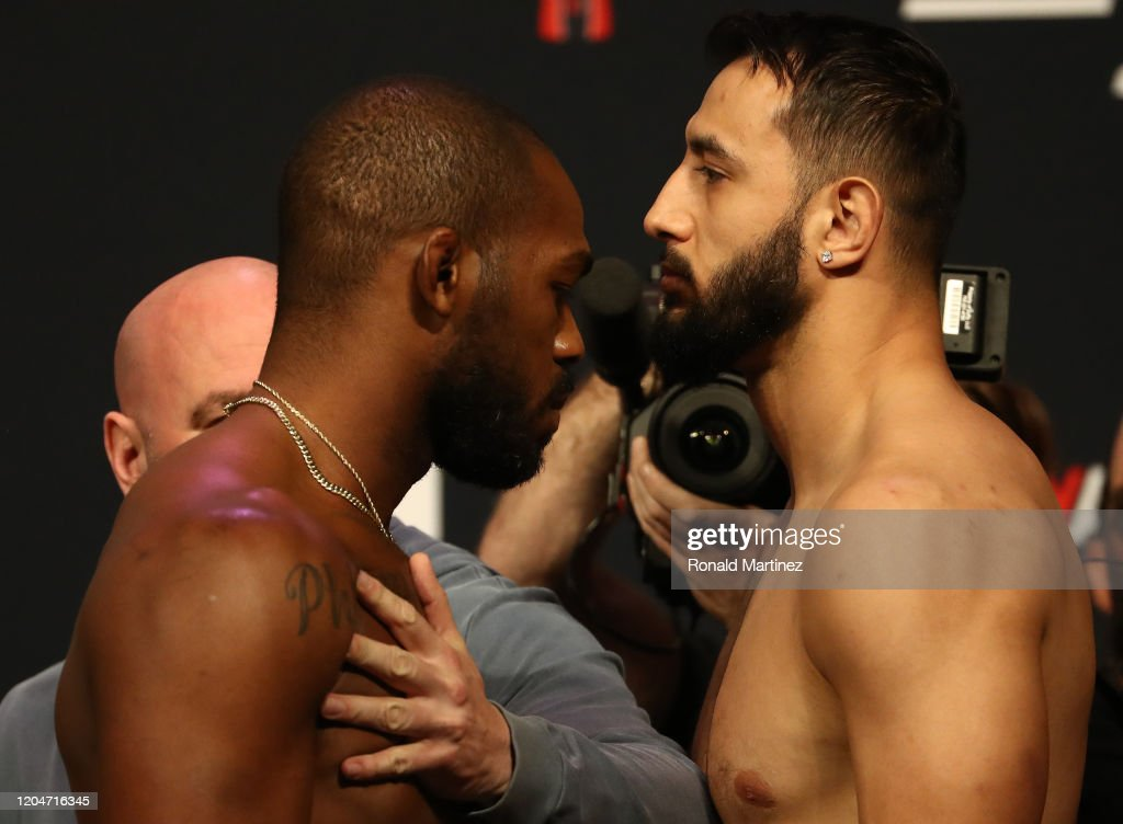 UFC 247 Jones v Reyes: Weigh-Ins : News Photo