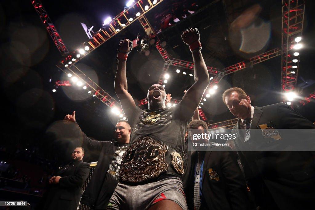 UFC 232: Jones v Gustafsson 2 : Fotografía de noticias