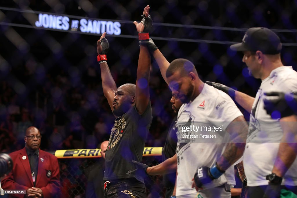 UFC 239: Jones v Santos : News Photo