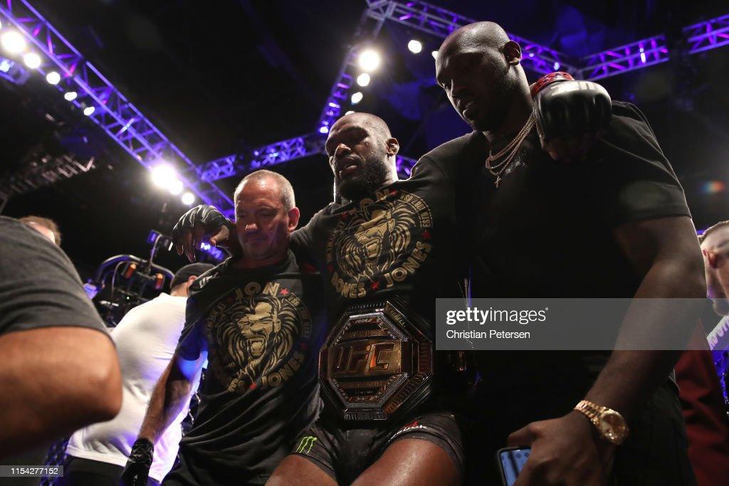 UFC 239: Jones v Santos : News Photo