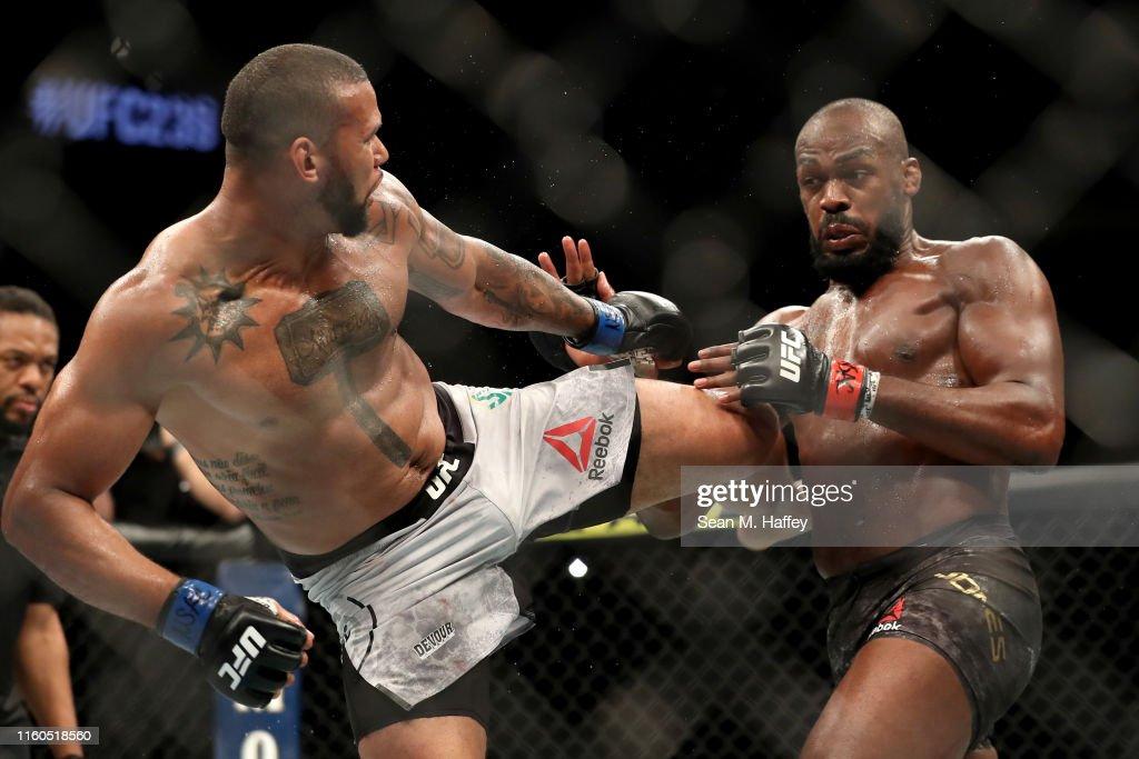 UFC 239 Jones v  Santos : Nieuwsfoto's