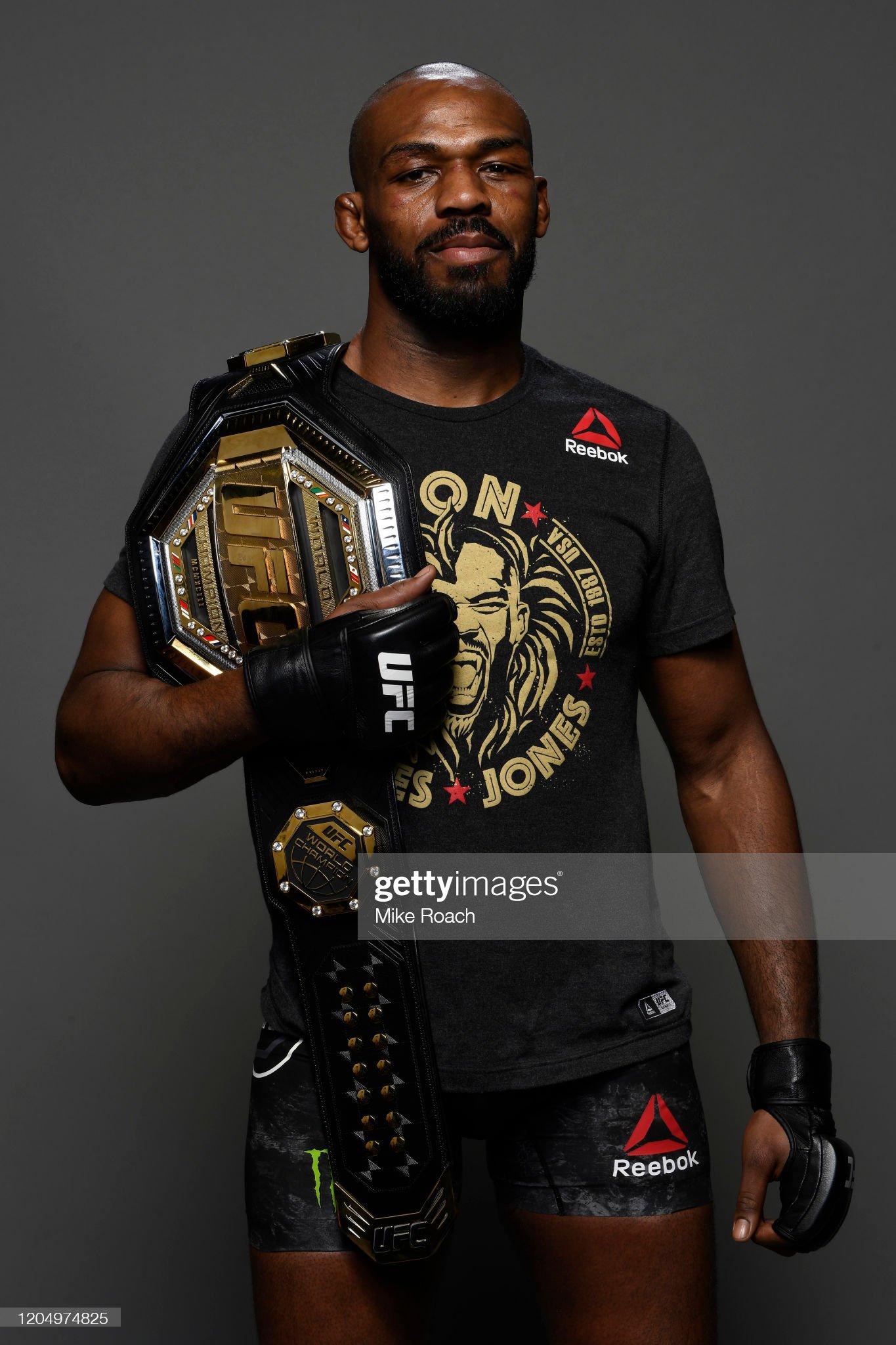 UFC 247: Jones v Reyes : News Photo