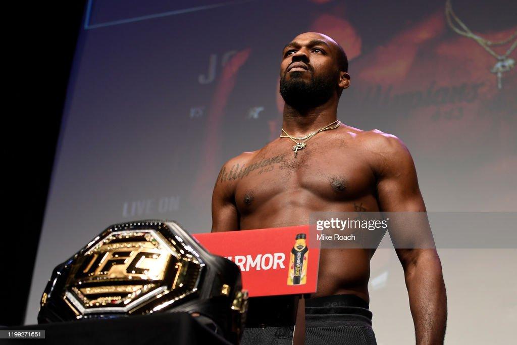 UFC 247: Weigh-Ins : News Photo