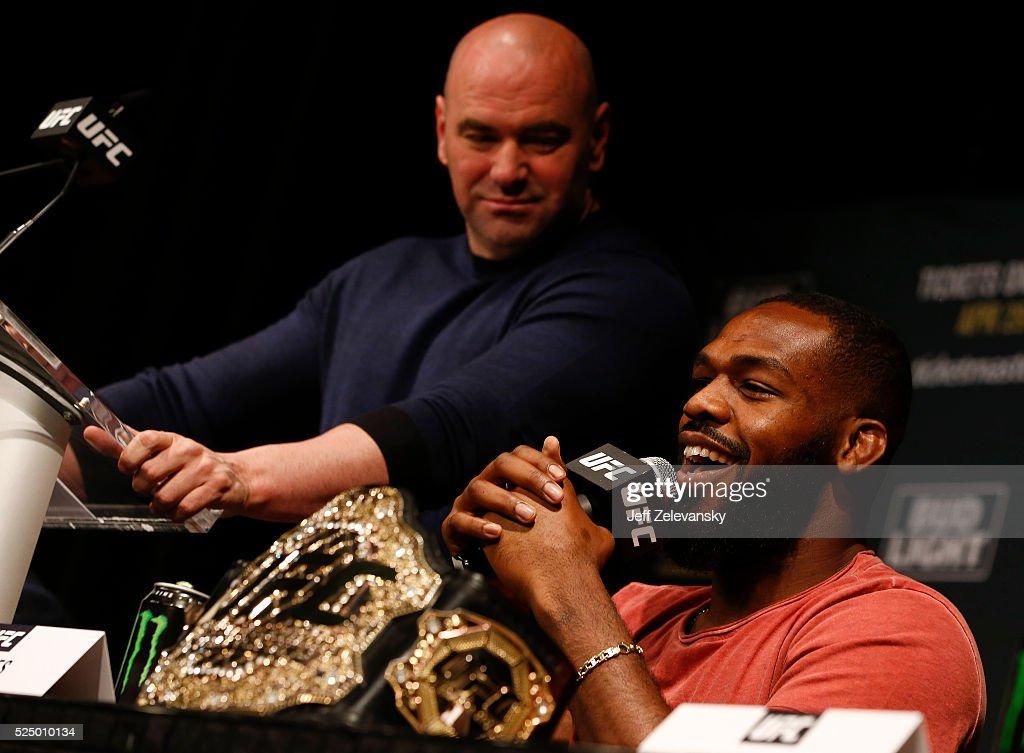 UFC 200 New York Press Event : News Photo