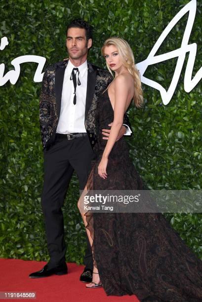 Jon Kortajarena and Stella Maxwell attend The Fashion Awards 2019 at the Royal Albert Hall on December 02 2019 in London England