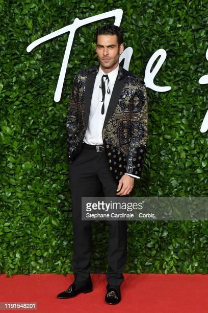 Jon Kortajarena arrives at The Fashion Awards 2019 held at Royal Albert Hall on December 02 2019 in London England
