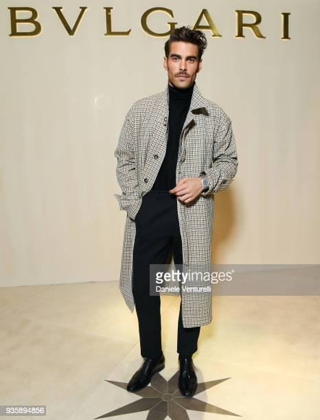 Jon Kortajarena attends Bvlgari Cocktail Party At Baselworld 2018 on March 21 2018 in Basel Switzerland
