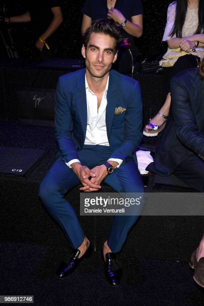Jon Kortajarena attends BVLGARI Dinner Party at Stadio dei Marmi on June 28 2018 in Rome Italy
