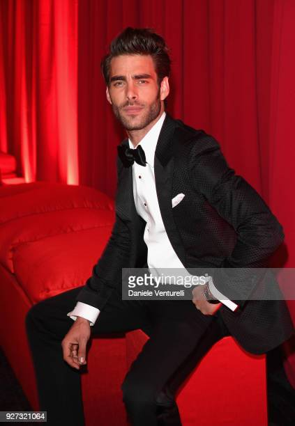 Jon Kortajarena attends Elton John AIDS Foundation 26th Annual Academy Awards Viewing Party at The City of West Hollywood Park on March 4 2018 in Los...