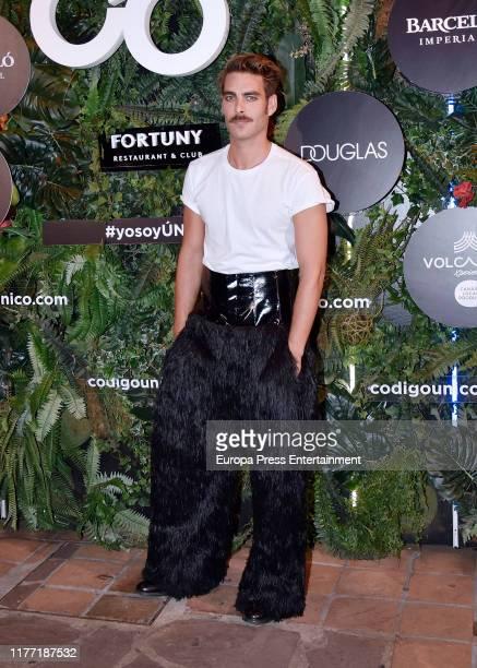 Jon Kortajarena attends 'Hombre Unico 2019' awards at Fortuny Restaurant Club on September 25 2019 in Madrid Spain