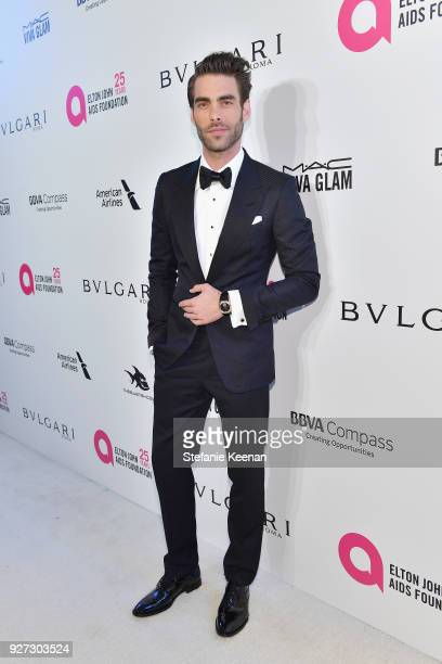 Jon Kortajarena attends the 26th annual Elton John AIDS Foundation Academy Awards Viewing Party sponsored by Bulgari celebrating EJAF and the 90th...