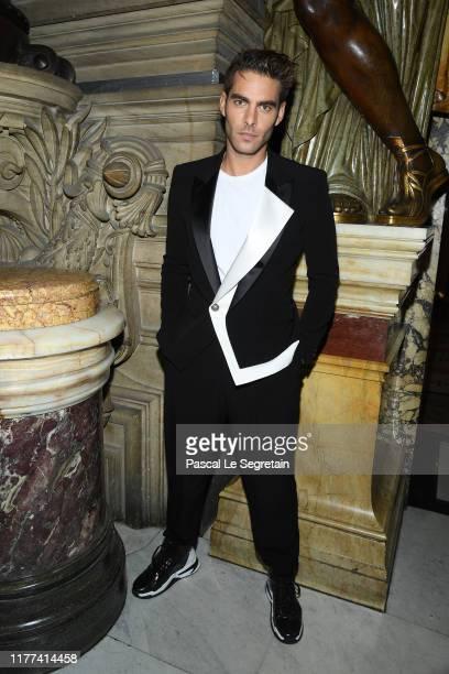Jon Kortajarena attends the Balmain Womenswear Spring/Summer 2020 show as part of Paris Fashion Week on September 27 2019 in Paris France