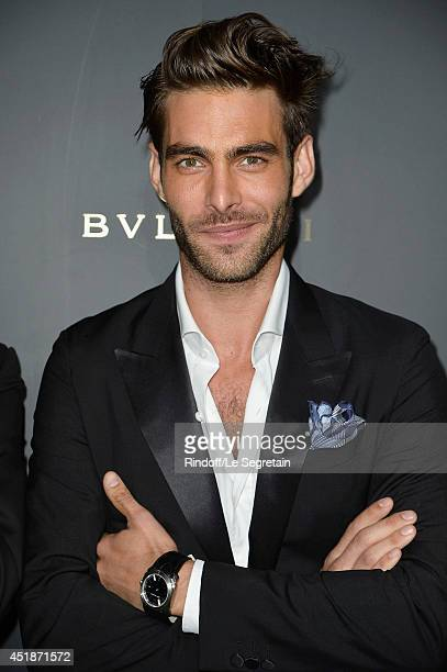 Jon Kortajarena attends the Bulgari Cocktail Event At Apicius as part of Paris Fashion Week at Apicius on July 8 2014 in Paris France