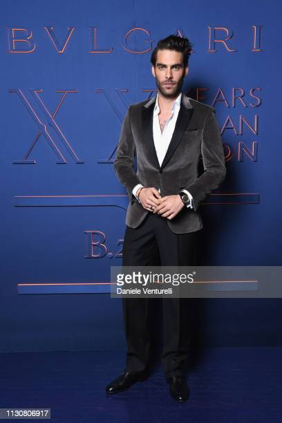Jon Kortajarena attends the Bvlgari BZERO1 XX Anniversary Global Launch Event at Auditorium Parco Della Musica on February 19 2019 in Rome Italy