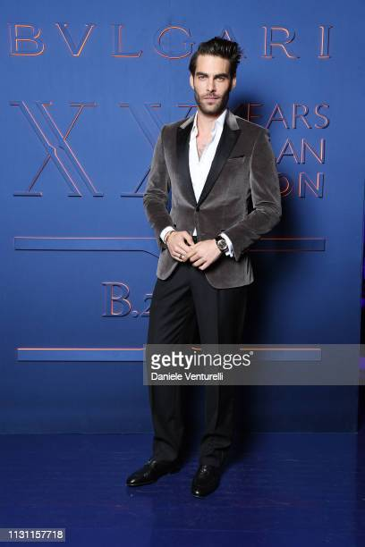 Jon Kortajarena attends the Bvlgari BZERO1 XX Anniversary Global Launch Event at Auditorium Parco Della Musica on February 19 2019 in Rome Italy
