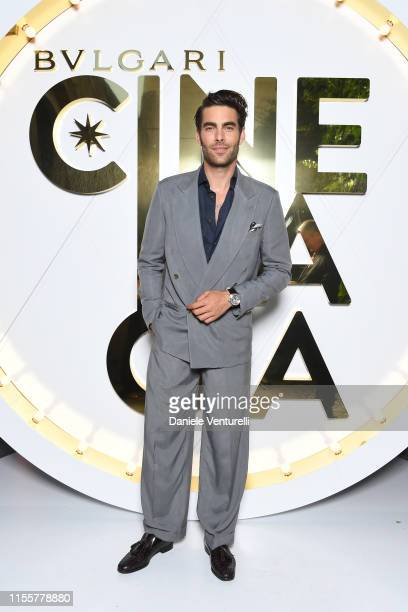 Jon Kortajarena attends the Bvlgari Hight Jewelry Exhibition on June 13 2019 in Capri Italy