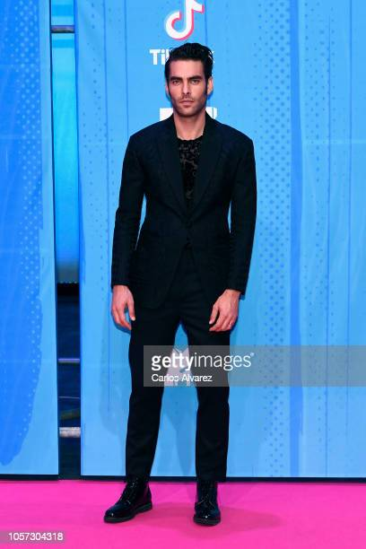 Jon Kortajarena attends the MTV EMAs 2018 at Bilbao Exhibition Centre on November 4 2018 in Bilbao Spain