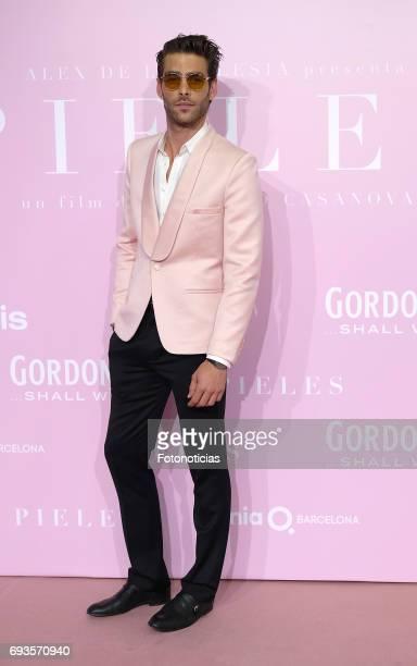 Jon Kortajarena attends the 'Pieles' premiere pink carpet at Capitol cinema on June 7 2017 in Madrid Spain