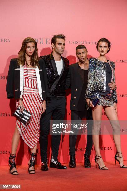 Jon Kortajarena attends Vogue 30th Anniversary Party at Casa Velazquez on July 12 2018 in Madrid Spain