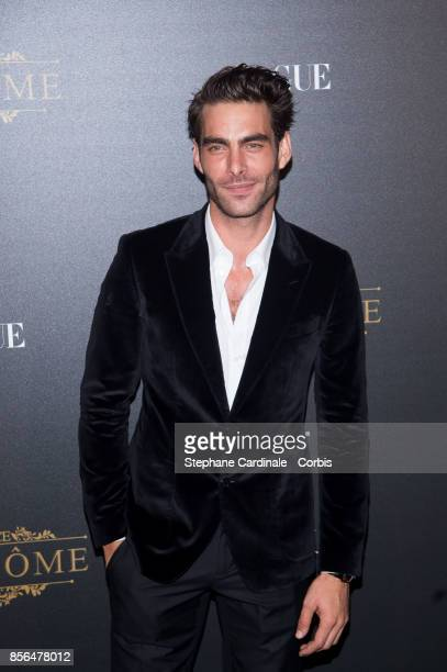 Jon Kortajarena attends Vogue Party as part of the Paris Fashion Week Womenswear Spring/Summer 2018 at on October 1 2017 in Paris France