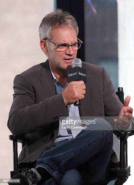 "Jon Krakauer attends AOL Build Presents: ""MERU""at AOL Studios In New York on August 13, 2015 in New York City."
