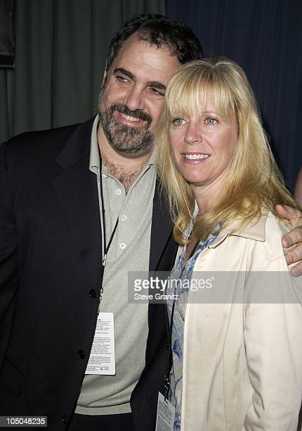 Jon Landau and wife Julie Landau during Ghosts Of The Abyss Premiere at Universal City Walk IMAX in Universal City California United States