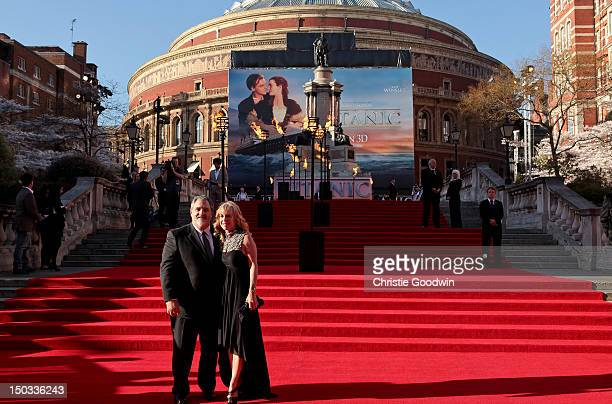Jon Landau arrives at the World Premiere of 'Titanic 3D' at the Royal Albert Hall on March 27 2012 in London England