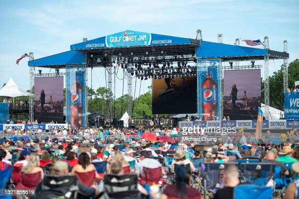 Jon Langston performs during the Pepsi Gulf Coast Jam on June 04, 2021 in Panama City Beach, Florida.