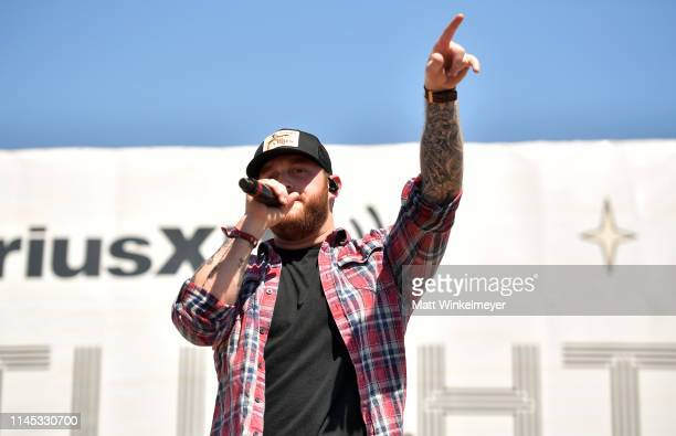 Jon Langston performs onstage during the 2019 Stagecoach Festival at Empire Polo Field on April 26 2019 in Indio California