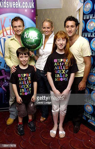 Jon Lee Robert Madge Jennifer Ellison Lydia Bannister and Antony Costa