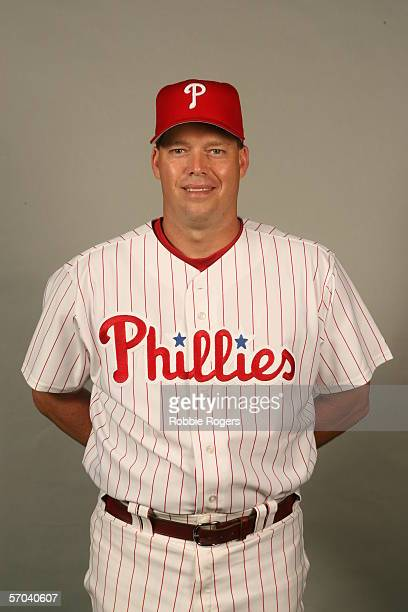 Jon Lieber of the Philadelphia Phillies during photo day at Bright House Networks Field on February 23 2006 in Clearwater Florida
