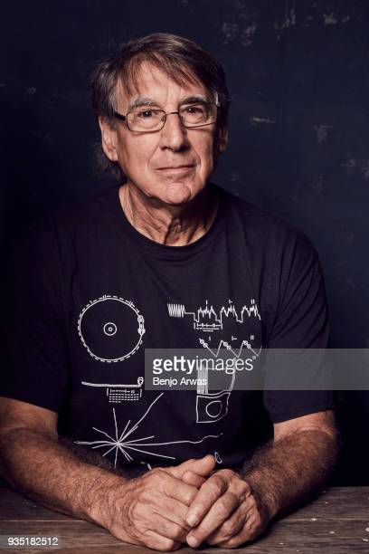 Jon Lomberg of PBS's 'The Farthest Voyager in Space' poses for a portrait during the 2017 Summer Television Critics Association Press Tour at The...