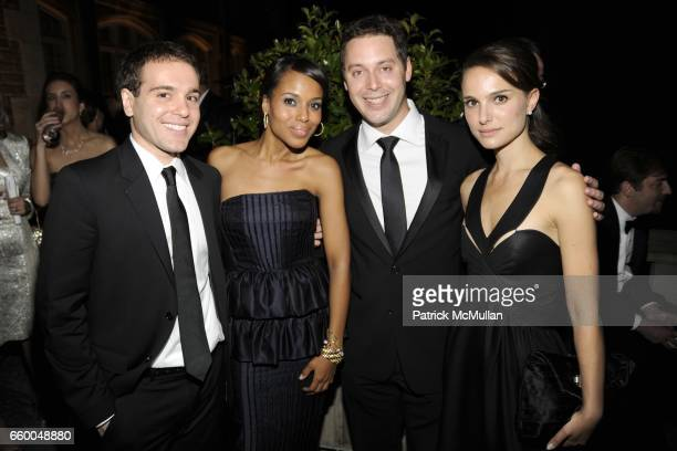 Jon Lovett Kerry Washington Michael Kives and Natalie Portman attend BLOOMBERG VANITY FAIR Cocktail Reception After the White House Correspondents'...
