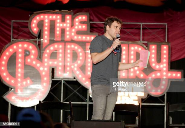 Jon Lovett performs during Lovett Or Leave It on The Barbary Stage during the 2017 Outside Lands Music And Arts Festival at Golden Gate Park on...