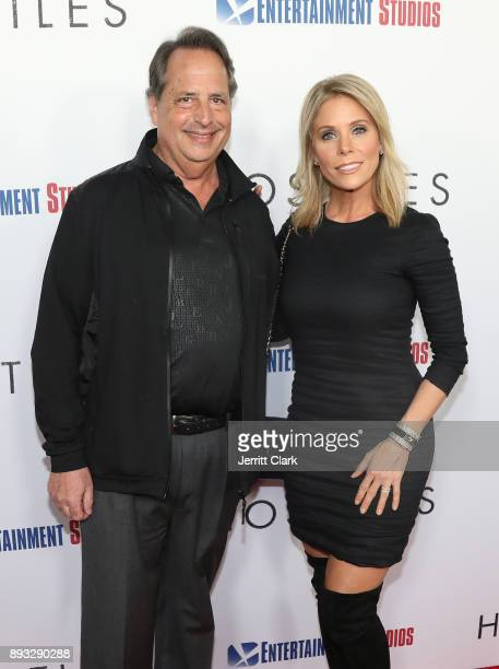 Jon Lovitz and Cheryl Hines attend the premiere of Entertainment Studios Motion Pictures' 'Hostiles' at Samuel Goldwyn Theater on December 14 2017 in...