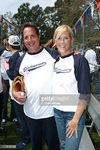Jon Lovitz and Erinn Bartlett during Revolution Studios and Columbia Pictures Premiere of The Benchwarmers at Sunset Canyon Recreation Center/UCLA...