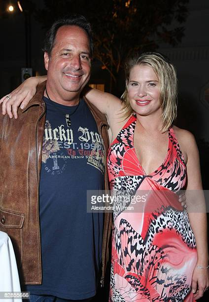 Jon Lovitz and Kristy Swanson at The Lollipop Theater Network's Game Day 2009 Sneak Peek Event held at The Home of Janet Crown on September 16 2008...