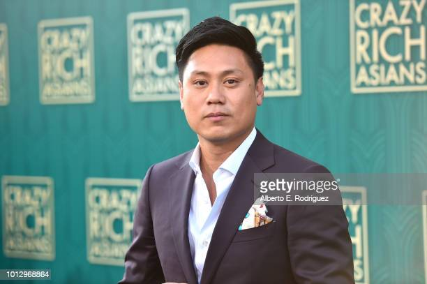 """Jon M. Chu attends the premiere of Warner Bros. Pictures' """"Crazy Rich Asiaans"""" at TCL Chinese Theatre IMAX on August 7, 2018 in Hollywood, California."""