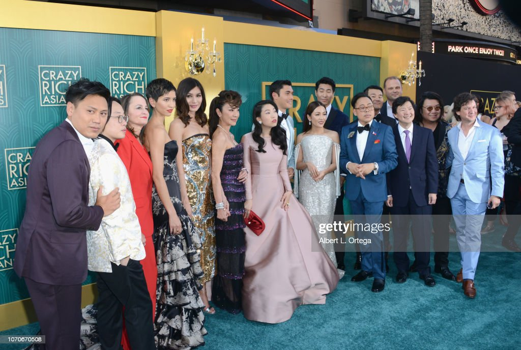 f24d8ce5920b Warner Bros. Pictures   Crazy Rich Asians  Premiere - Arrivals   News Photo