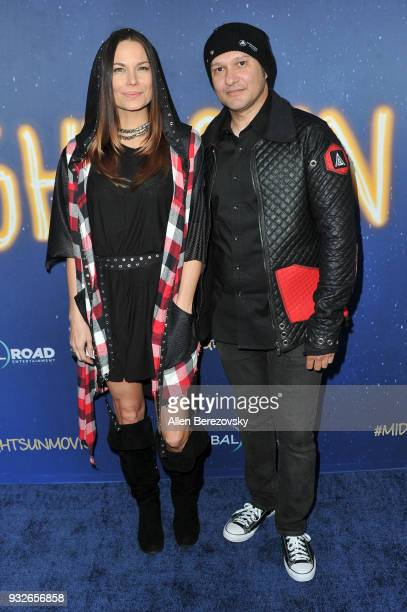 Jon Mack and Neil D'Monte attend the Global Road Entertainment's World Premiere of 'Midnight Sun' at ArcLight Hollywood on March 15 2018 in Hollywood...