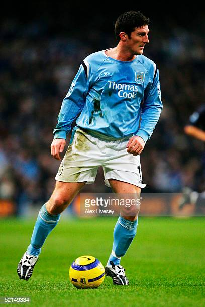Jon Macken during the Barclays Premiership match between Manchester City and Tottenham Hotspur at the City of Manchester Stadium on December 11 2004...