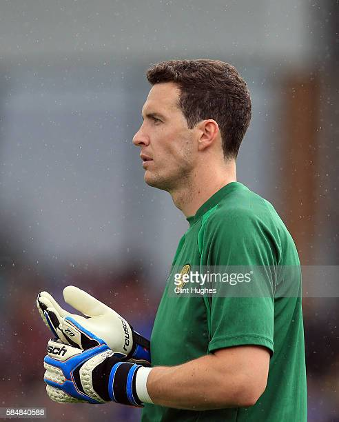 Jon McLaughlin of Burton Albion during the Pre Season Friendly match between Burton Albion and Stoke City at the Pirelli Stadium on July 16 2016 in...