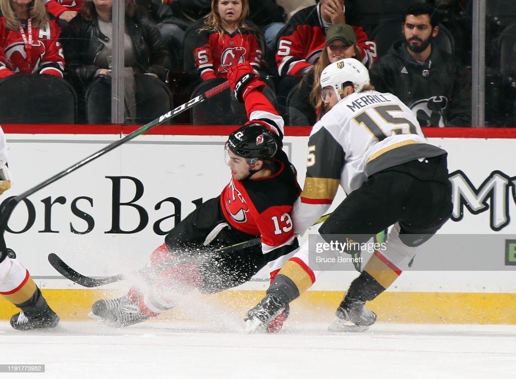 Vegas Golden Knights v New Jersey Devils : News Photo