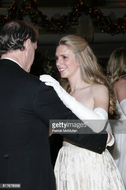 Jon Nagel and Hadley Nagel attend THE 56TH INTERNATIONAL DEBUTANTE BALL at Waldorf Astoria on December 29 2010 in New York City
