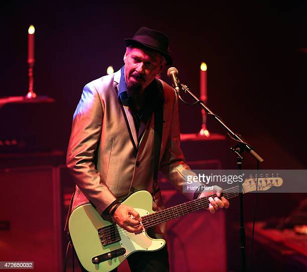 Jon Nichols of Beth Hart band performs at Barbican Centre on May 8, 2015 in London, England.