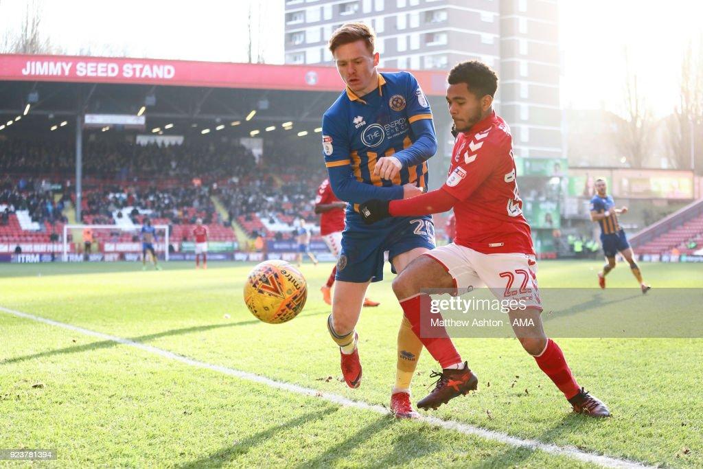 Charlton Athletic v Shrewsbury Town - Sky Bet League One : News Photo