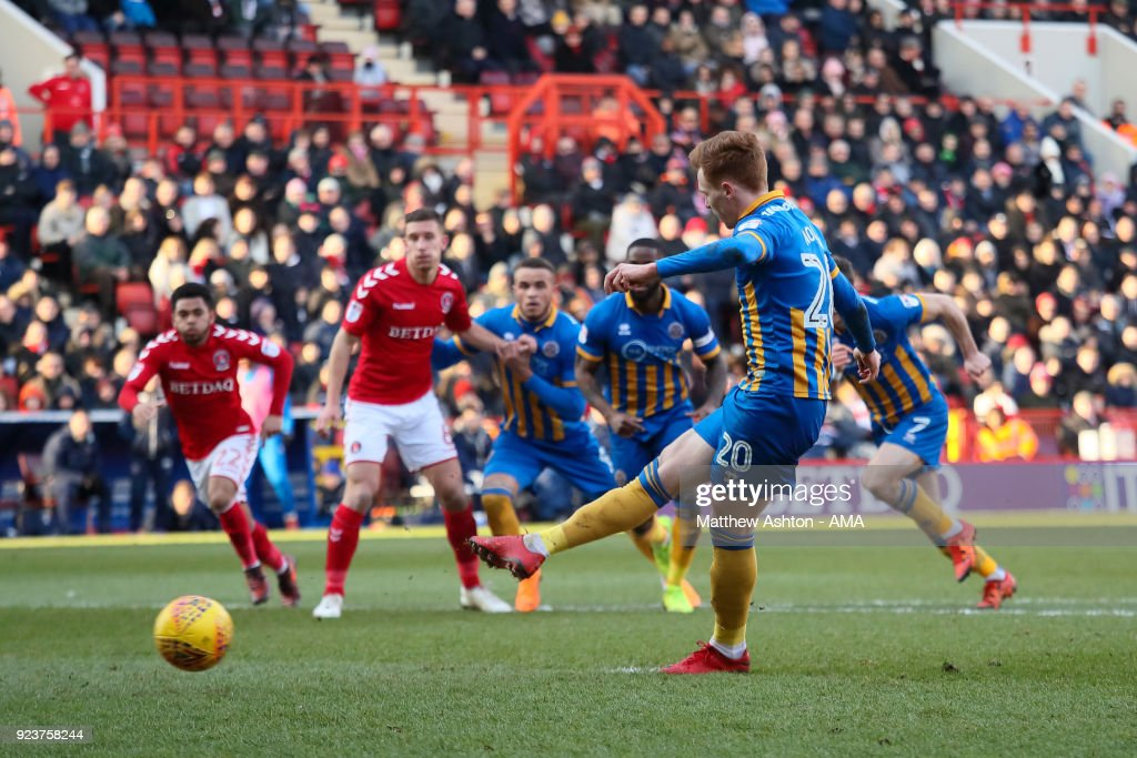Charlton Athletic v Shrewsbury Town - Sky Bet League One